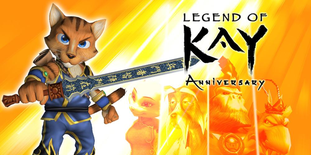 Recensione di: Legend of Kay Anniversary (PS3) Studio Mirai Libreria di Racconti Fiction Furry